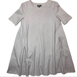 Silver Swing Micro Mini Tunic Dress with pockets